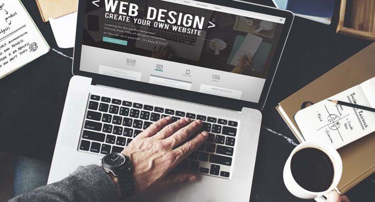 Creez site-uri web de prezentare sau magazine online
