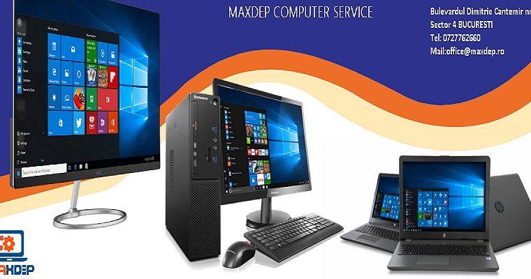 MaxDep Depanare calculatoare curatare profesionala